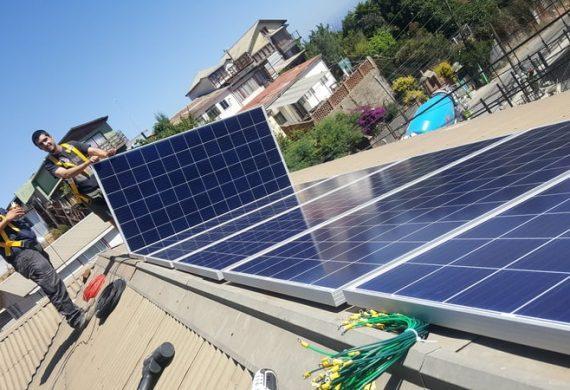 Junta de vecinos Cerro El litre, Valparaíso. #solarHOME – Ongrid